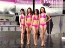 2013国际中华小姐选美大赛模特泳装问答环节