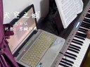 琴键狂舞《天空之城》电钢琴视_tan8.com