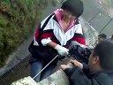 2012年五一劳动节御用闲人女儿安徽牛桥水库索降视频