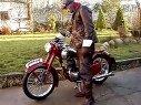 1952年捷克JAWA 250复古摩托车