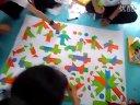 [拍客]武汉千名儿童七巧板拼出壮观儿童节