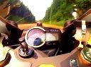 铃木GSX-R1000高速第一视角实拍,0到100公里只需秒