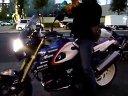 日本街头的超级宝马摩托车HP2 Megamoto