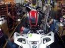 宝马摩托车厂 2014宝马R1200GS探险摩托车组装