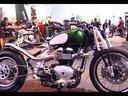 英国百年名品-凯旋豪华摩托车-米兰车展Triumph Scrambler Custo
