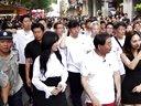 首尔市长一行广州街头宣传首尔旅游