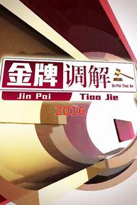 金牌调解2016
