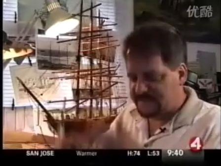 采访船模制作者 俄罗斯