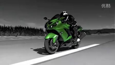 川崎重工Kawasaki Ninja ZX-14R 忍者TVCM 2012年日本摩托车广告 宣传片