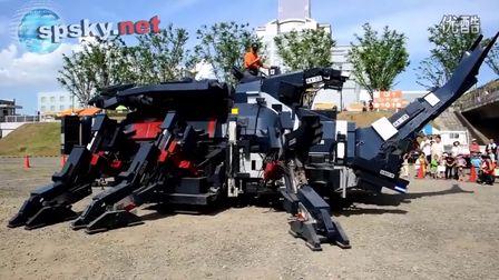 """日本神级技术宅 11年时间打造17吨巨兽""""机械甲虫"""""""