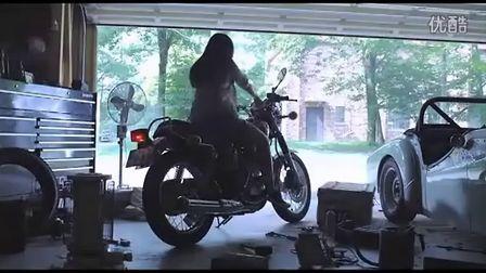女孩与Yamaha SR400的故事