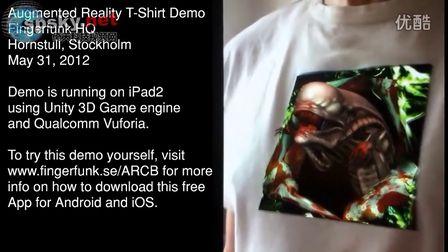 帅爆了!牛人用iPad制作超真实异形T恤