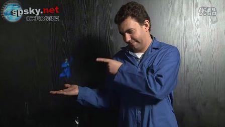 你也試試 牛人教你在室內實現3D全息效果
