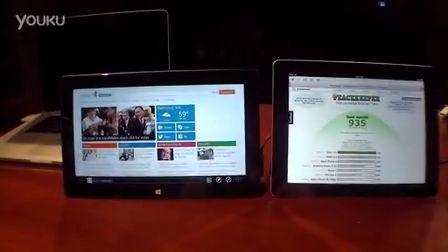 移動版IE10優化不力?Surface瀏覽器跑分遠遠落后iPad 4