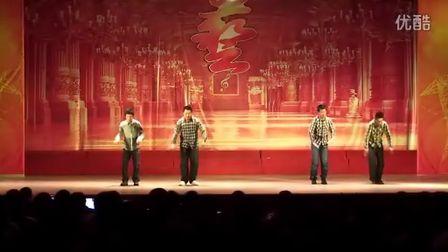 [54]街舞表演—2012新生才艺大赛(54阳光网 摄制)