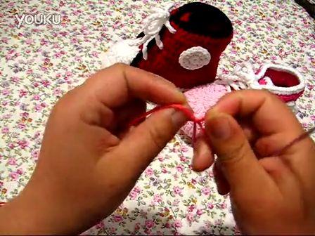 宝宝鞋底的钩法 98
