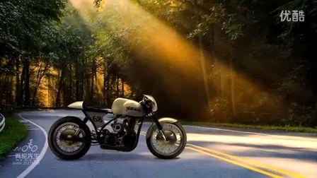 诺顿摩托车 Norton Manx 复古改装定制咖啡骑士 Cafe Racer