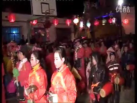 2012青海乐都县洪水镇马家营村社火