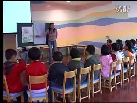 幼儿园音乐公开课中班语言《花和蛙》优质课示范课