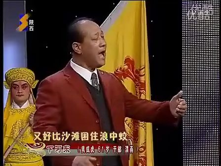 秦腔《下河东.选段》演唱;焦成虎