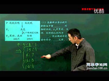 简单学习网  高三冲刺课程 生物2  第2部分