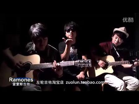 双吉他精彩合奏 左轮兄弟吉他弹唱《彩虹》宽屏版
