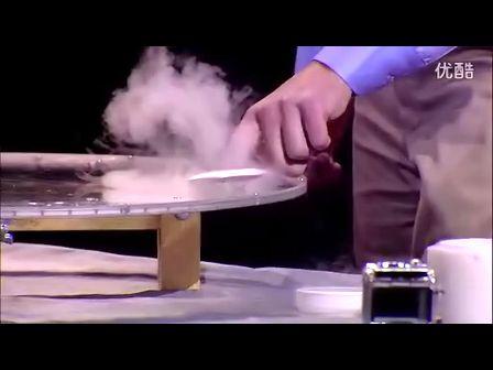 强大的超导悬浮实验演示