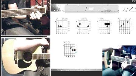 我真的受伤了 张学友吉他谱教学,黑蜘蛛吉他博客