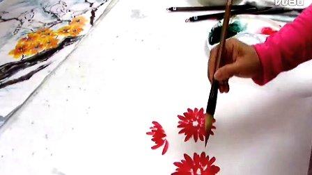 楊秀櫻寫意菊花入門(一)水墨畫教學—在线播放—优酷网,视频高清在线观看