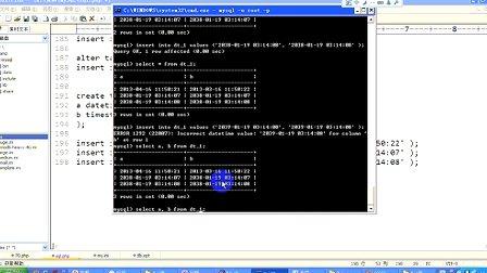 传智播客PHP培训 韩忠康 PHP视频教程 Mysql 第10讲 时间类型