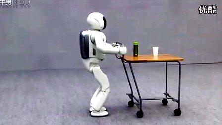 最灵活的本田ASIMO智能机器人