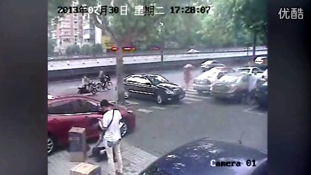杭州街头的爱心救助
