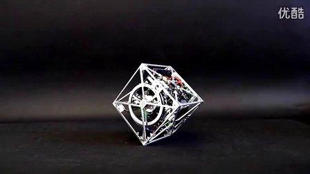 Cubli:可以走动的超稳定平衡立方体