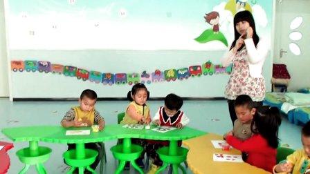 红光农场幼儿园优质课视频小班《可爱的小瓶盖》教师
