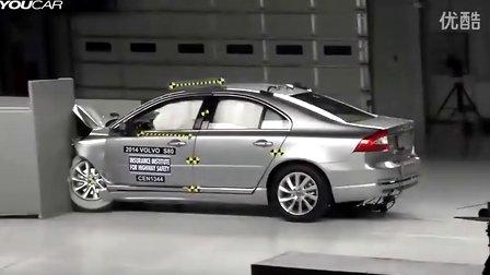 2014款沃尔沃s80碰撞测试高清图片