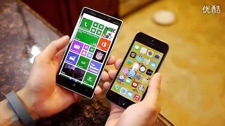 Lumia Icon和iPhone 5S、LG G2和Galaxy S4对比