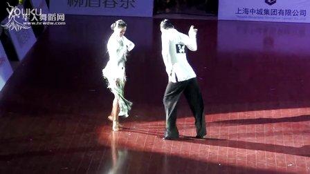 2014年中国体育舞蹈公开赛(上海站)职业组L决赛SOLO牛仔王军 贾博麟00953