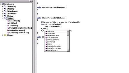 VC++就业培训宝典之MFC视频教程第十三章文档模板架构(1<font style='color:red;'>3-3</font>)