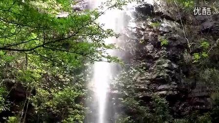 江华蜜蜂吊瀑布风景