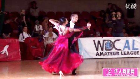 2014年莫斯科之星体育舞蹈锦标赛决赛狐步Пешкун -Атаманцева