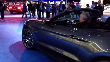 ll_New_Ford_Mustang_sound全新福特野马mustang 展车-震撼的奇瑞