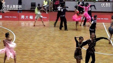 2014年CBDF中国杯巡回赛济南站专业16岁以下组L第一轮恰恰00296