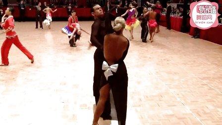 2014年WDSF世界体育舞蹈公开赛香港站缅甸万丰国际老百胜第一轮伦巴Kagan - Selivanov