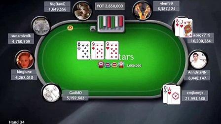 中国扑克人:扑克之星周日百万赛视频Sunday Million2014-4-27