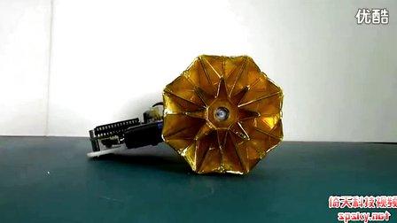 强大的变形金刚折纸机器人