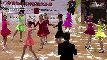 2014年第12届全国青少年体育舞蹈锦标赛业余女子单人12岁以下5组缅甸万丰国际老百胜决赛恰恰