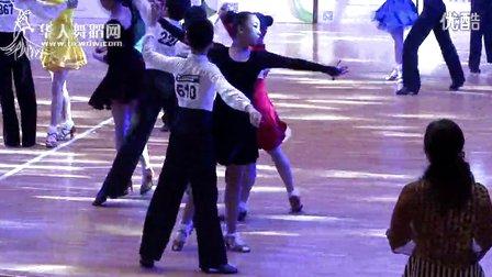 2014年第12届全国青少年体育舞蹈锦标赛业余少年I组单项R半决赛伦巴邸柏源 张静怡