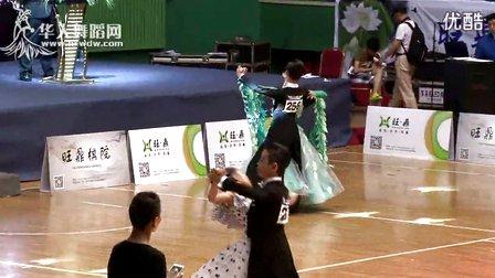 2014年第12届全国青少年体育舞蹈锦标赛13岁以下组B级赛标准舞半决赛华尔兹许涛 范晨梦