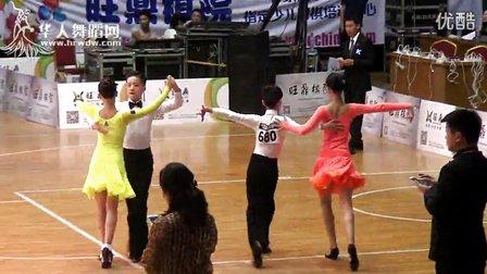 2014年第12届全国青少年体育舞蹈锦标赛少儿II组A级赛L决赛桑巴蔡文龙 陈心怡