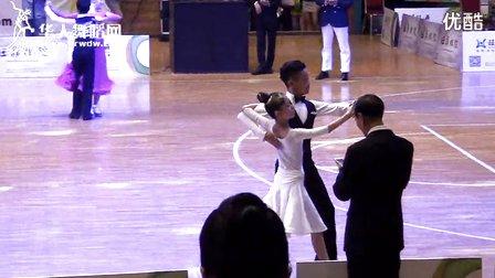 2014年第12届全国青少年体育舞蹈锦标赛业余少年I组A级赛S半决赛探戈刘子豪 王子娇